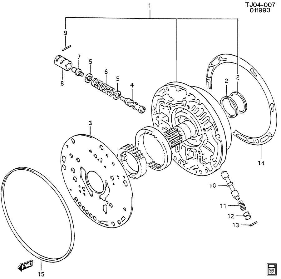 geo tracker bushing  transmission control valve  bushing