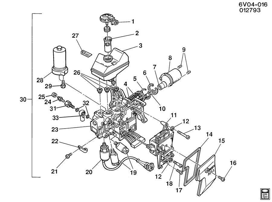 cadillac deville factory wiring diagram