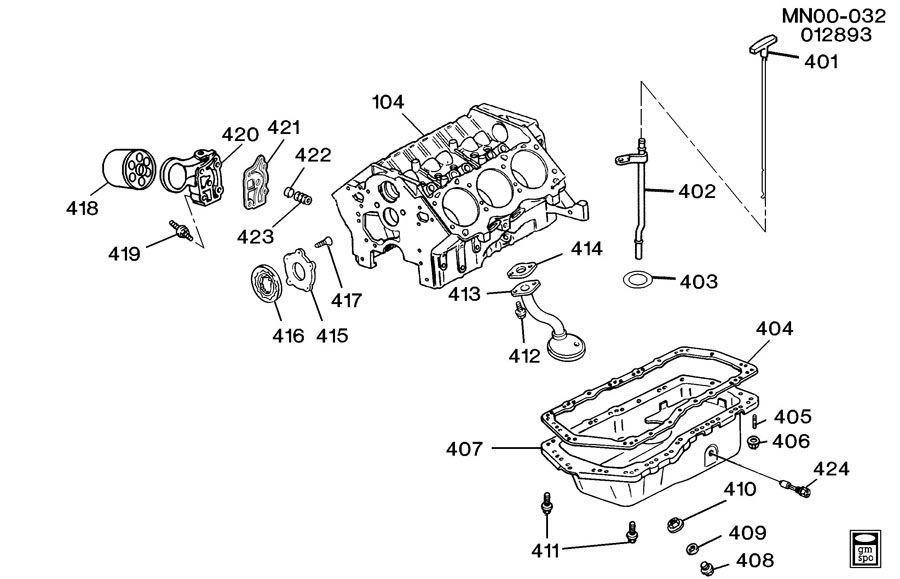 Gm 4 3l Oil Pan Diagram Gm Free Engine Image For User