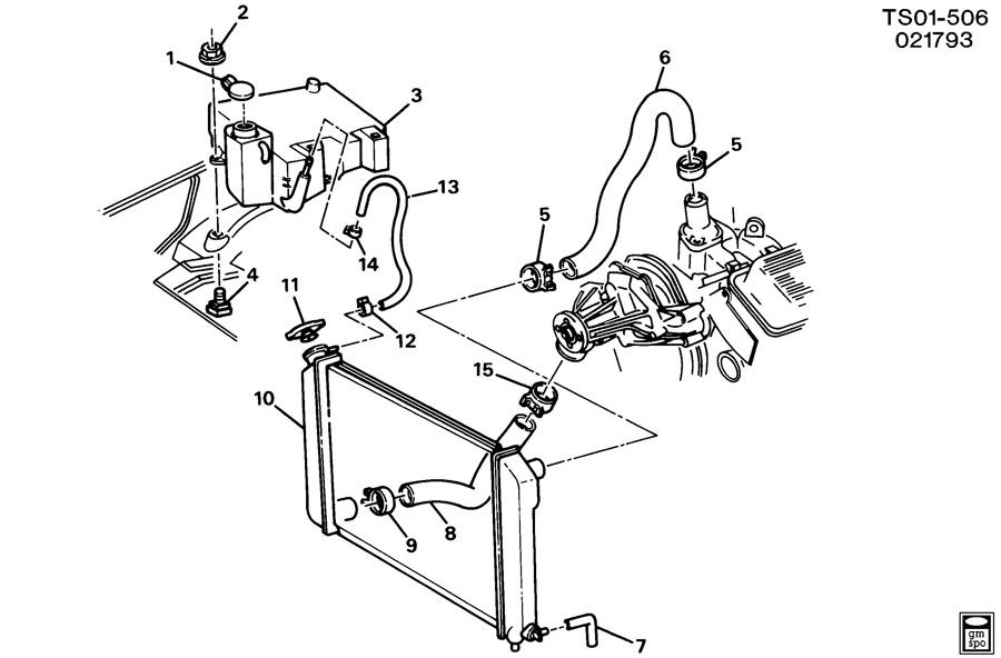 Gm 3100 Engine Cooling Hoses Gm Free Engine Image For