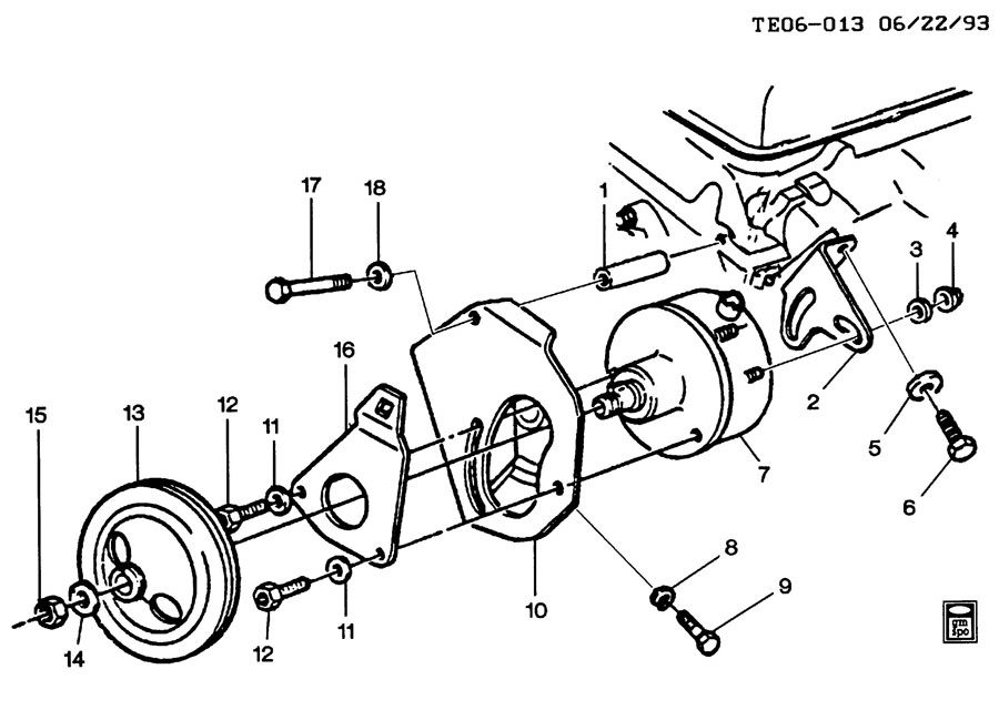 26003161 gm pump power steering pump p s bmkuv. Black Bedroom Furniture Sets. Home Design Ideas