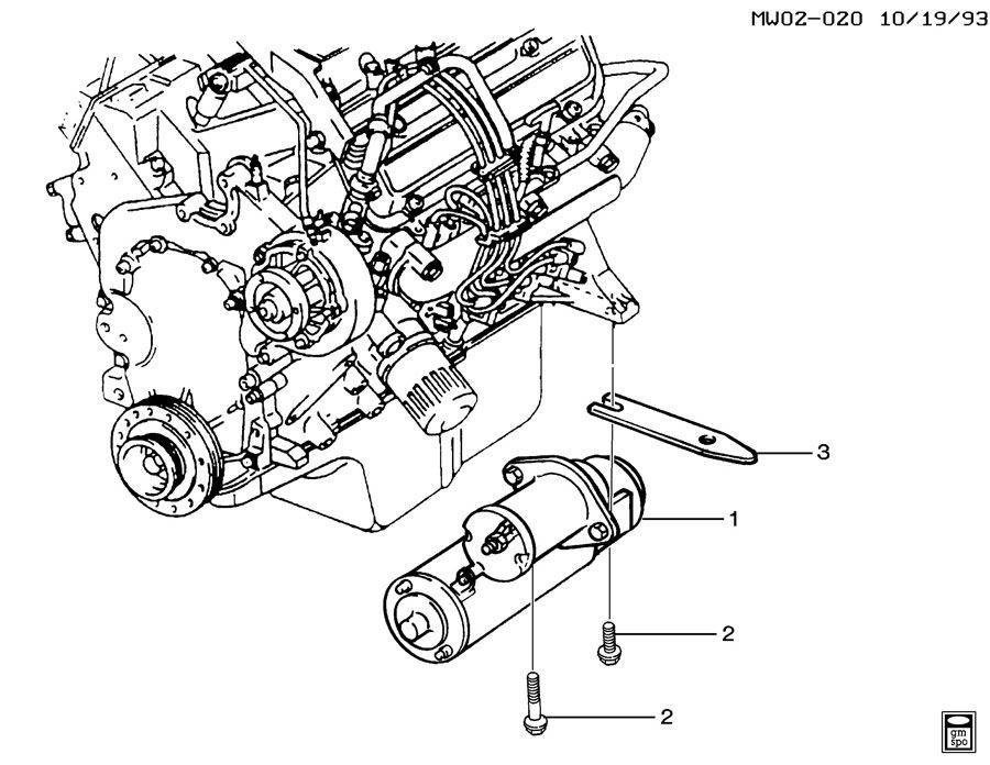 Pontiac Grand Prix Starter  Starter Motor  Pmgr
