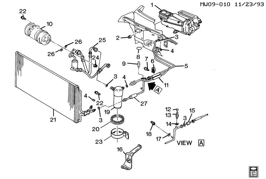 chevrolet lumina a/c refrigeration system 1998 chevy lumina engine diagram of starter free download #14