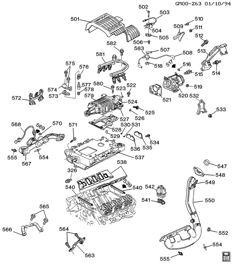 gm 3800 engine coolant diagram gm 3800 belt diagram wiring gm 3.8 engine cooling system diagram 3800 Series Engine Cooling System Diagram