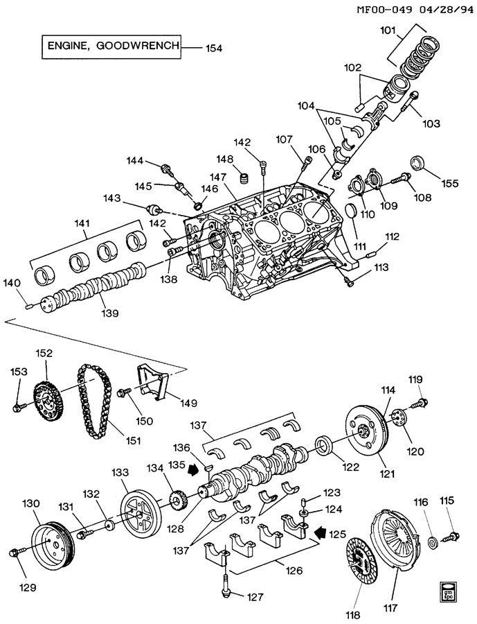 95 gm 3 1 engine diagram cylinder