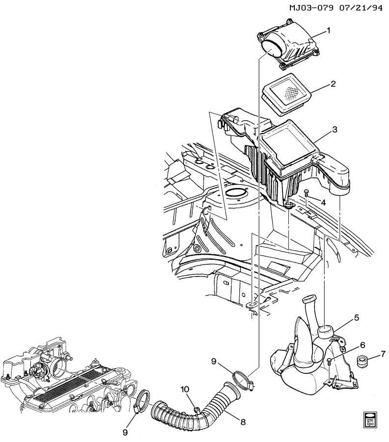 AIR INTAKE SYSTEM-L4