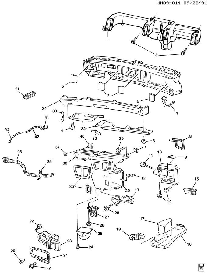 Buick Lesabre Air Distribution System