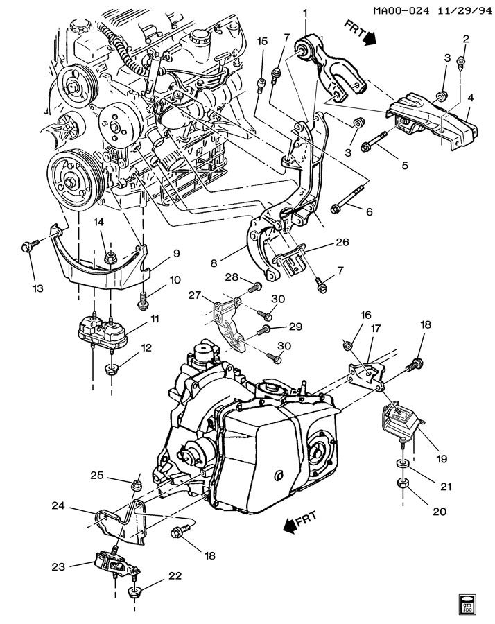 1995 Buick Century 3 1 Engine Diagram