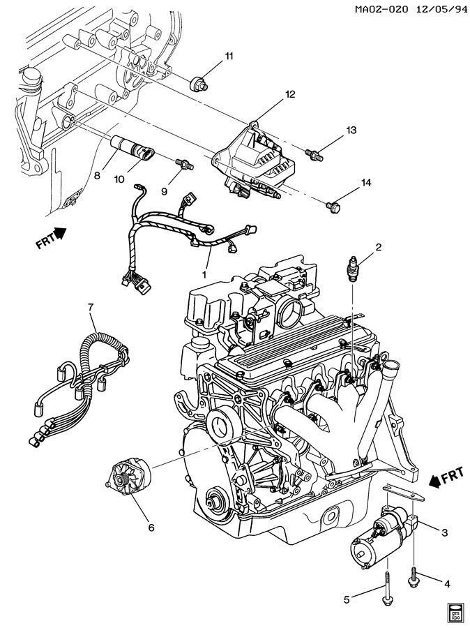 engine diagram for 1995 buick century 4 cyl  engine  get