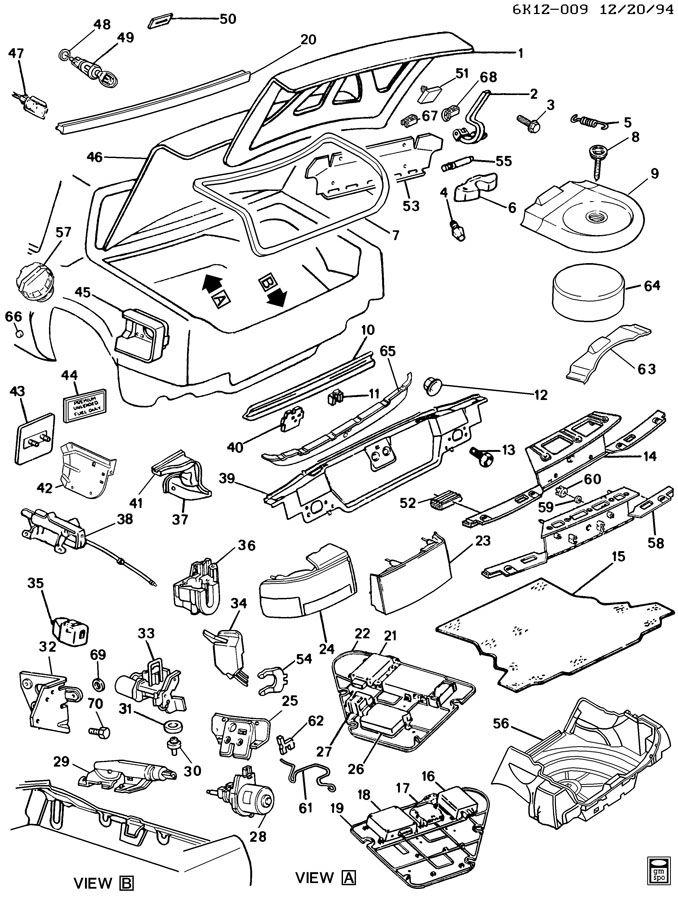 Cadillac Deville Module  Electronic Control Suspension