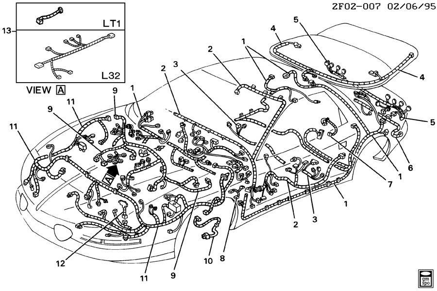 pontiac firebird exhaust system
