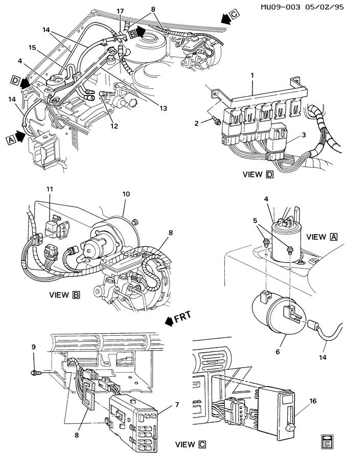 chevrolet fuse box diagram on 1991 chevy lumina sd sensor location chevrolet free engine image
