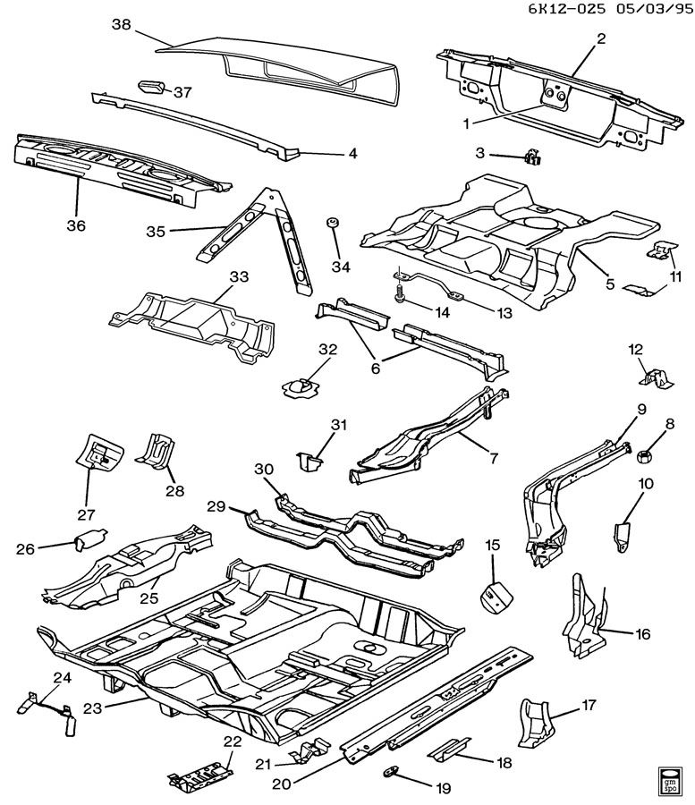 cadillac deville sheet metal  body