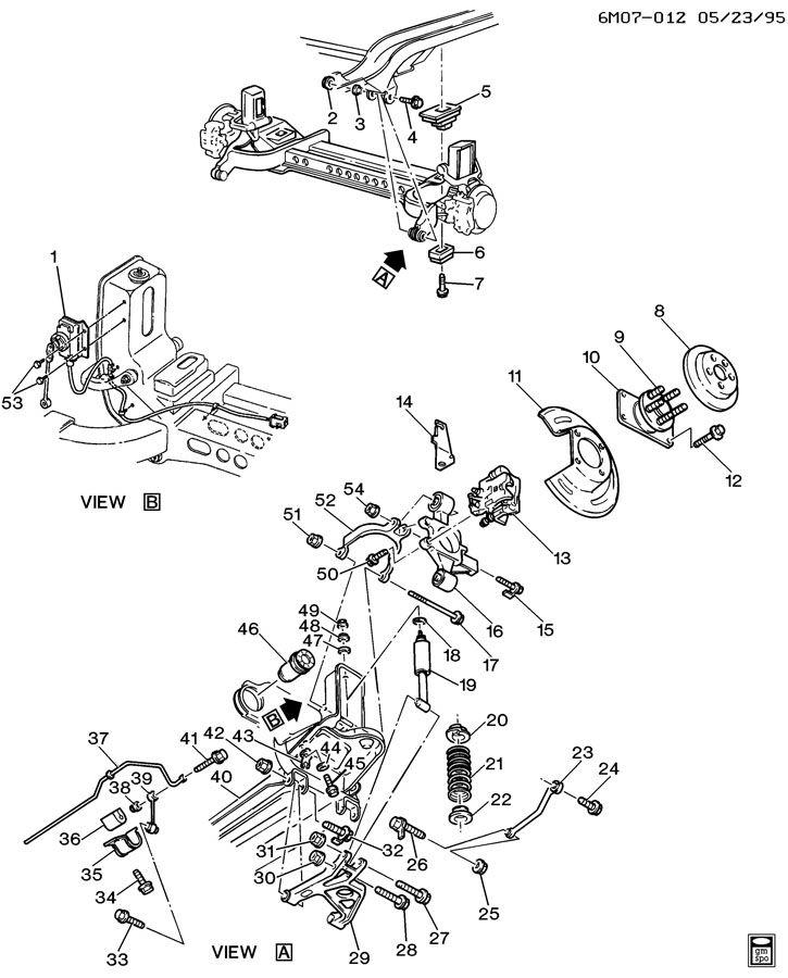 Cadillac Deville Hub  Rear Wheel  Hub  Rr Whl Incls Stud