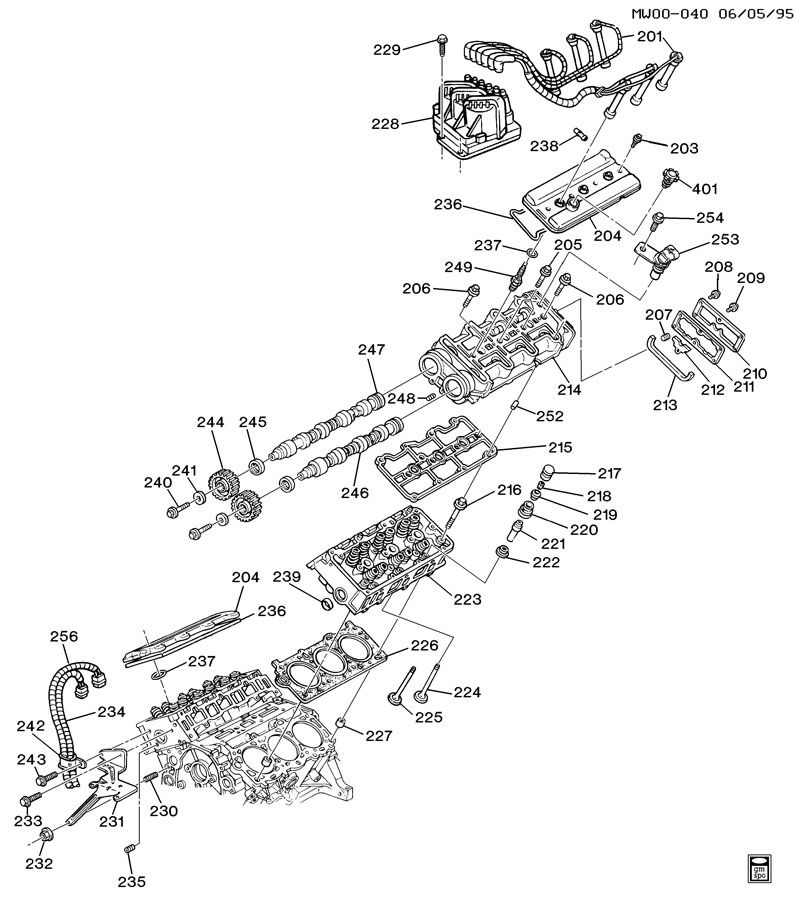 Chevrolet Lumina Pin  Engine Cylinder Head  Pincyl  Dwl  Dowel