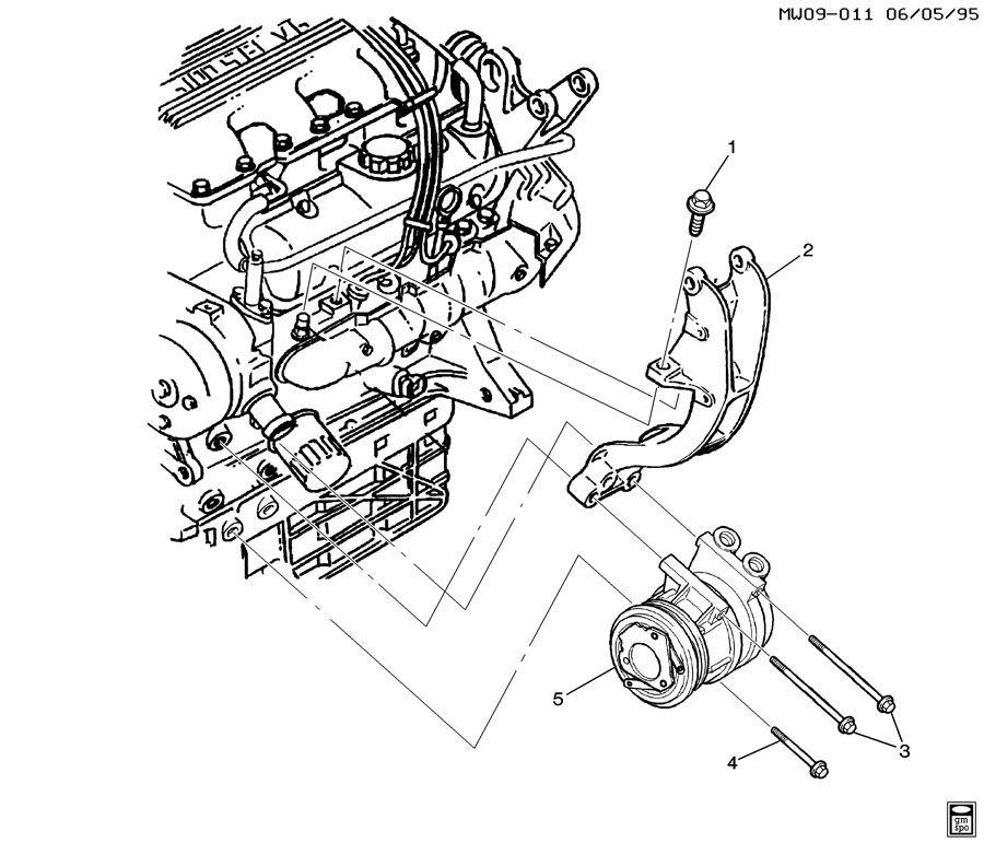 Chevrolet    Impala    Bolt    Air       conditioning     ac     pressor