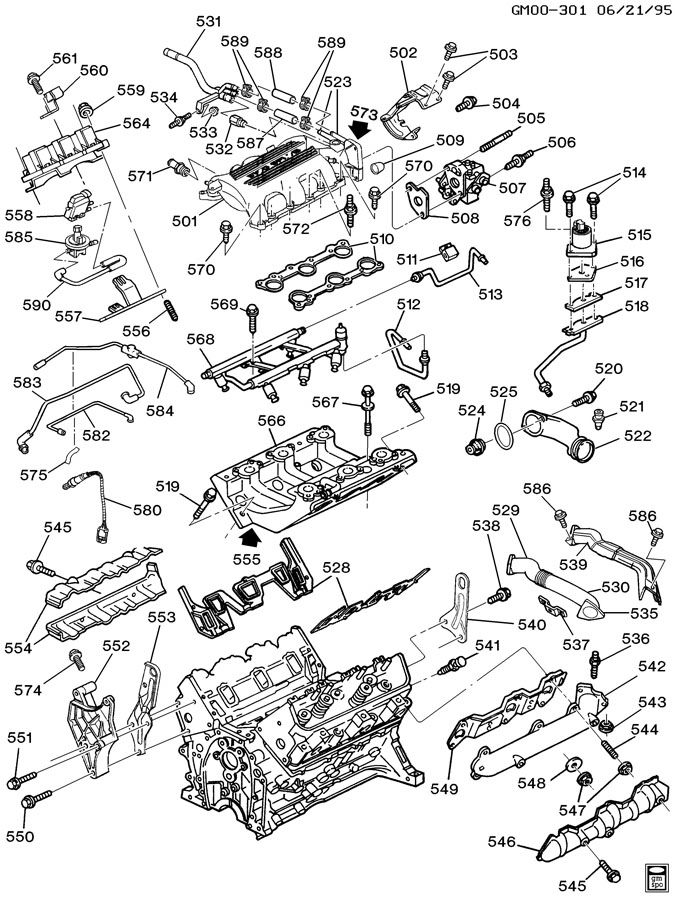 Chevy Impala 3800 V6 Engine Diagram