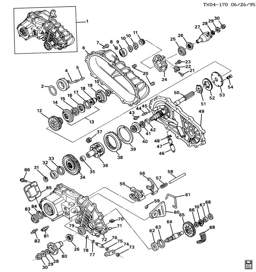 borg warner transmission transfer case