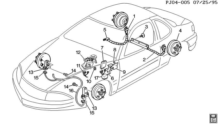 brake electrical system anti