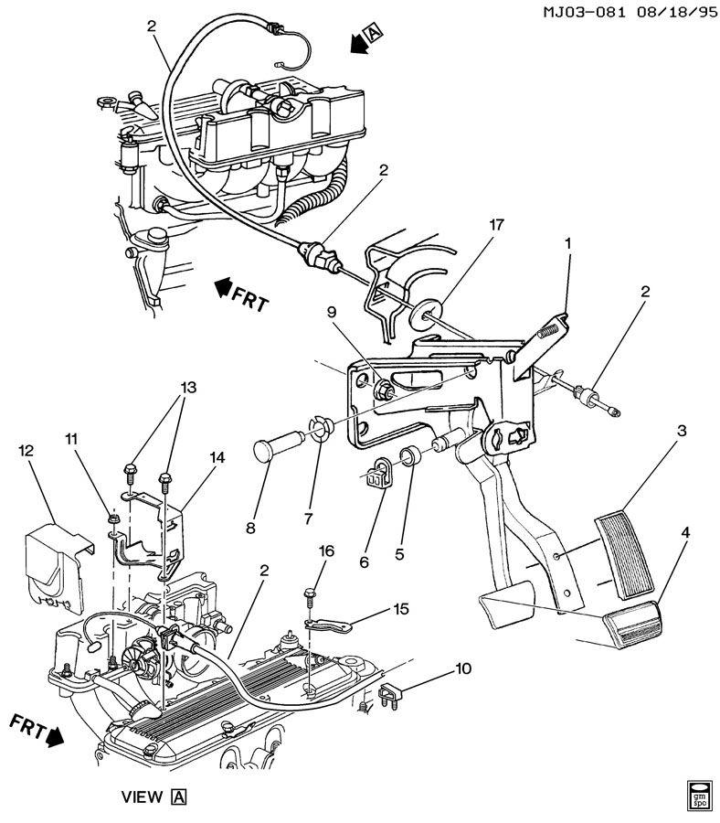 pontiac sunfire accelerator l4