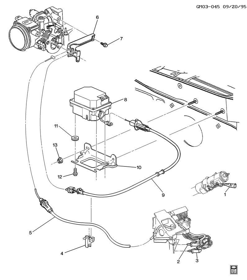 1997 Oldsmobile 88 Transmission: CRUISE CONTROL-V6