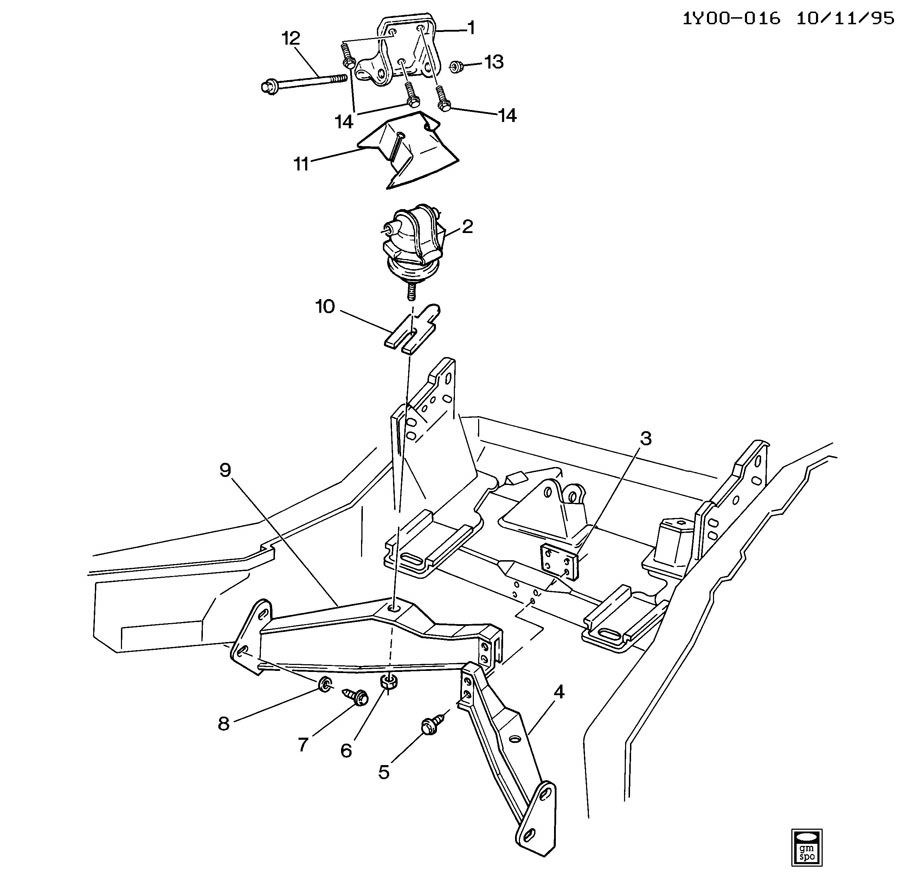 Stickied: LT1 Engine Mount Brackets