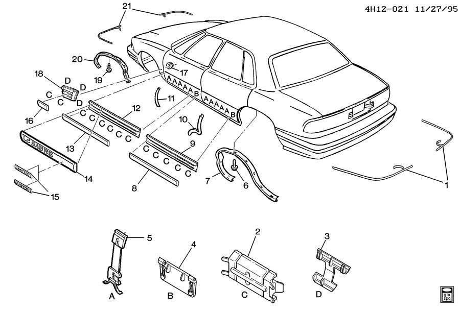 97 buick lesabre parts catalog