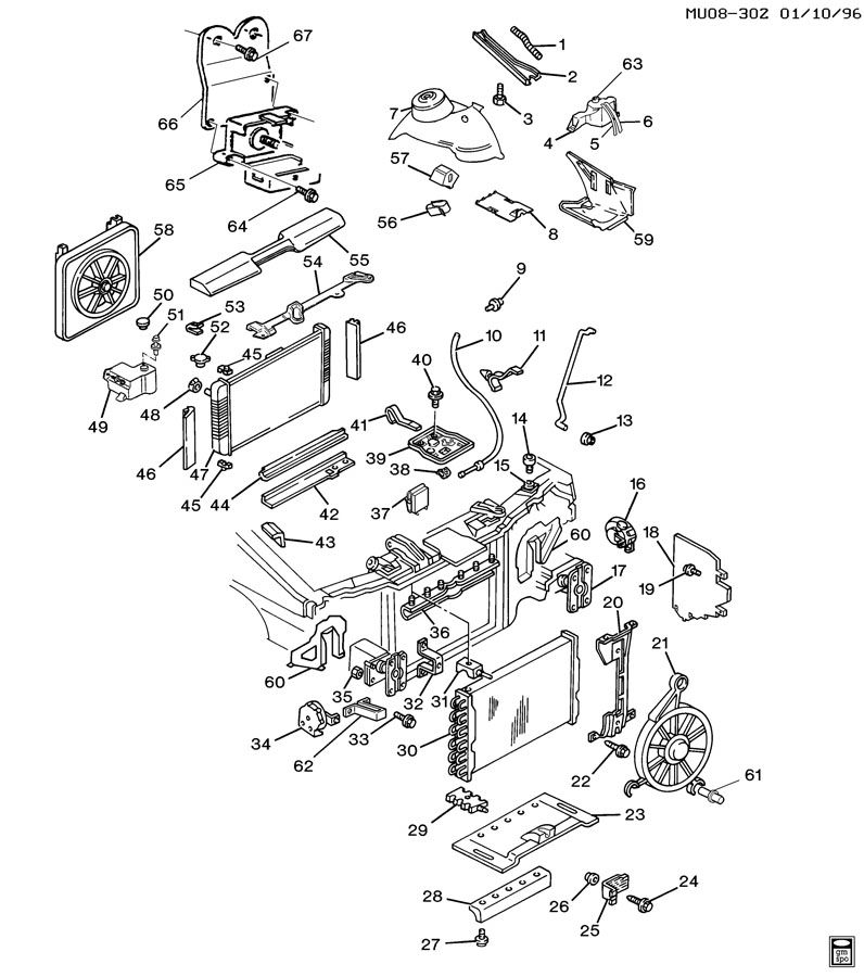 1992 pontiac trans sport sheet metal  front end part 2