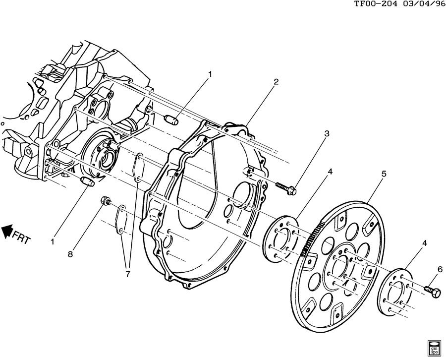 alternator wiring diagram gmc t6500