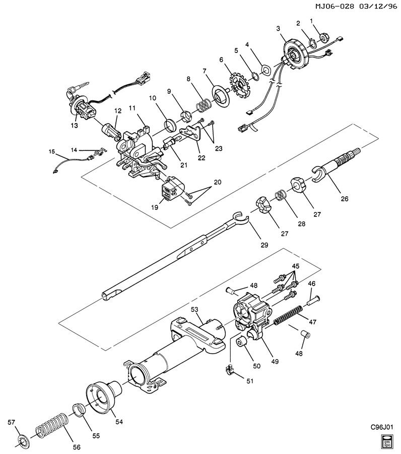 57 chevy dash wiring diagram