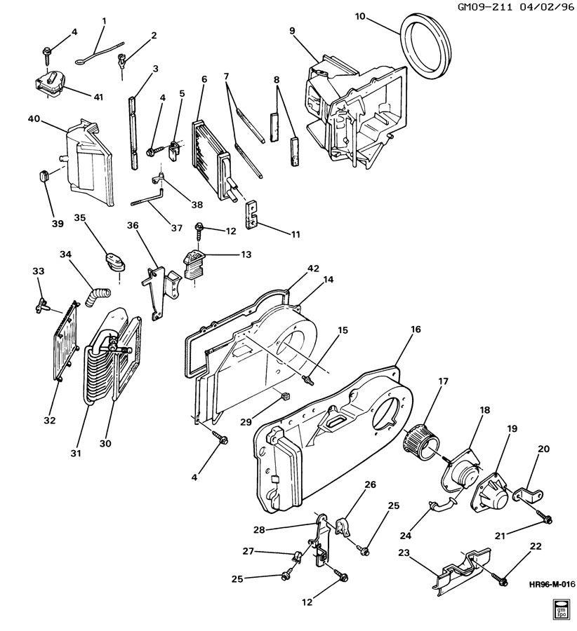 Showassembly on Buick Park Avenue Parts Diagram