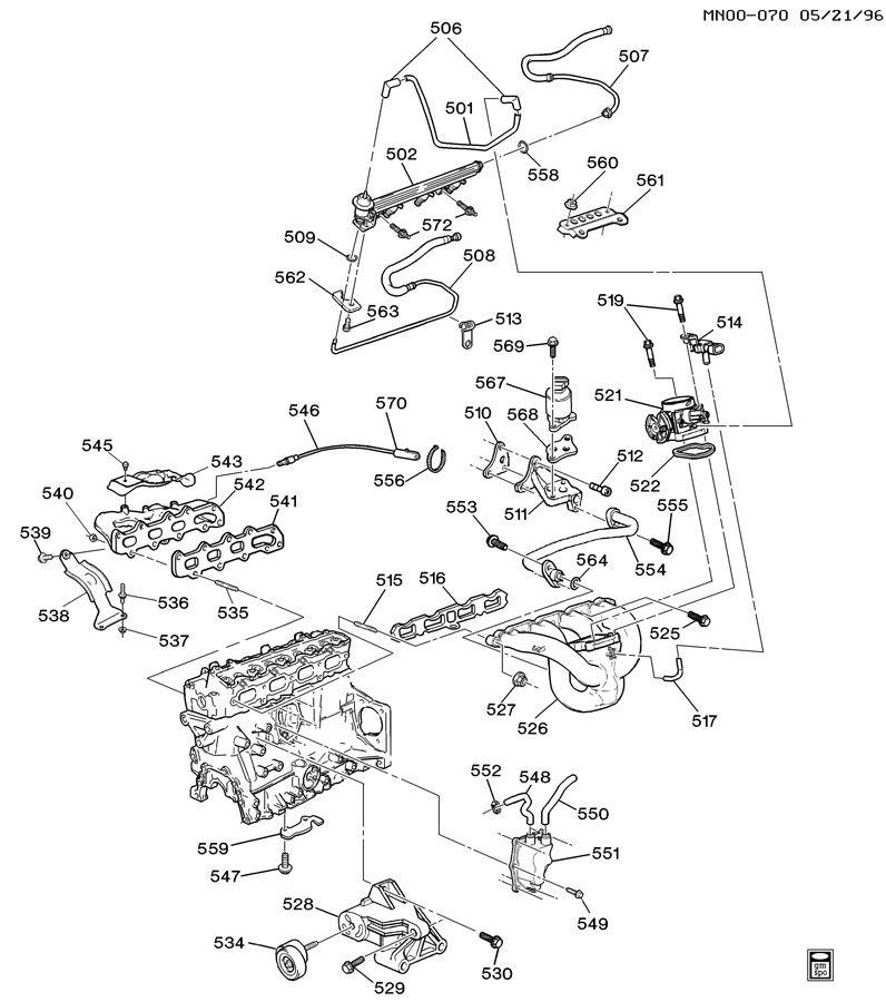 1999 pontiac grand am engine asm