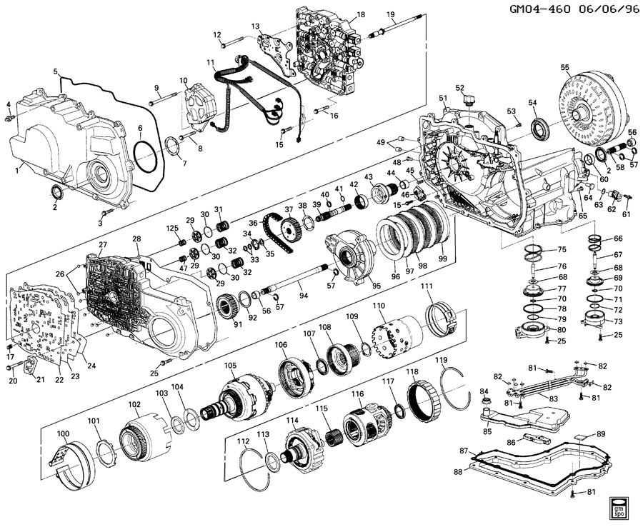 Wiring Diagram For A 4l60e Transmission Wiring Diagram For