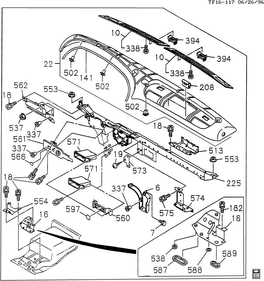 gmc t6500 engine