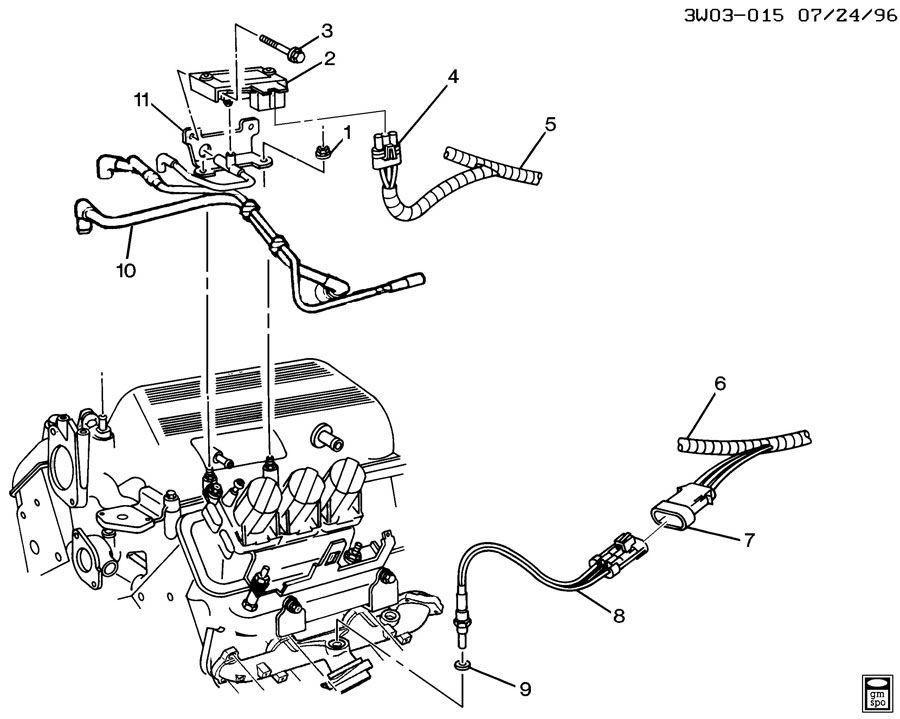 how to replace o2 sensor 1996 buick century