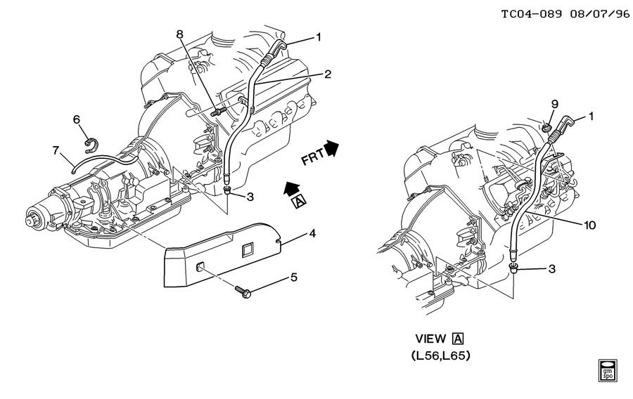 Transmission Filler Tube Automatic Transmission