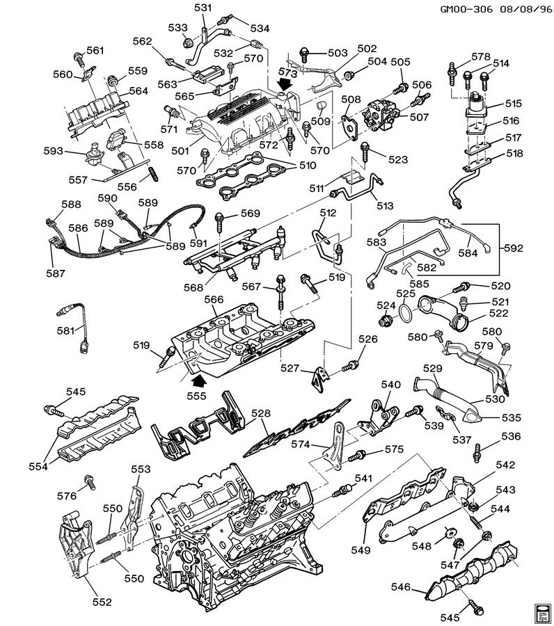 2000 Corvette Engine Diagram