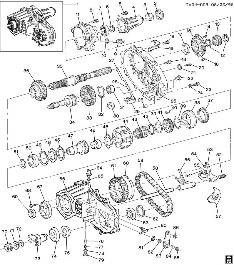 2003 pontiac montana belt diagram