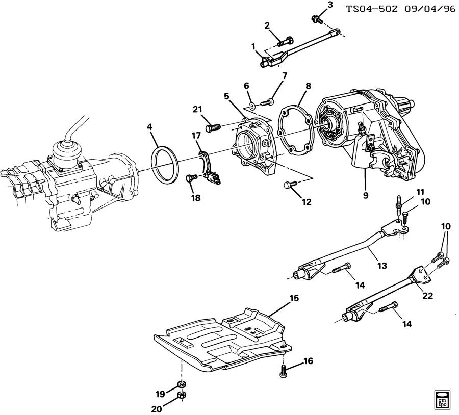 Chevrolet S10 Gasket  Gaskettrfer  Wrelated