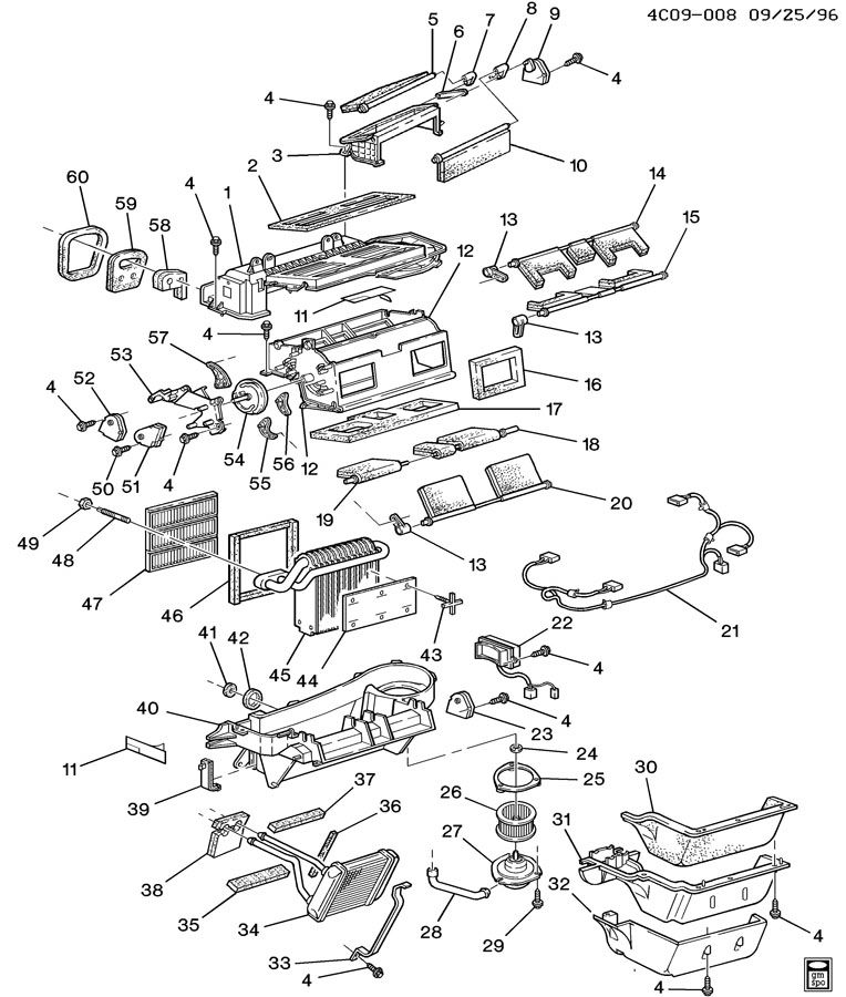 1997 Buick Park Avenue Mode Door Actuator Html Autos Post