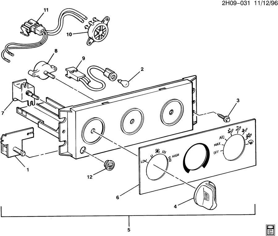 16198912  c  control  air conditioning  a  c  vacuum