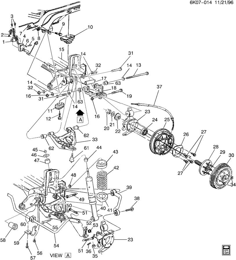 2004 chrysler sebring rear suspension diagram  2004  free