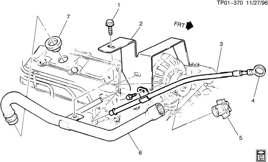 Chevrolet P30 Engine Oil Level Indicator Amp Filler Tube