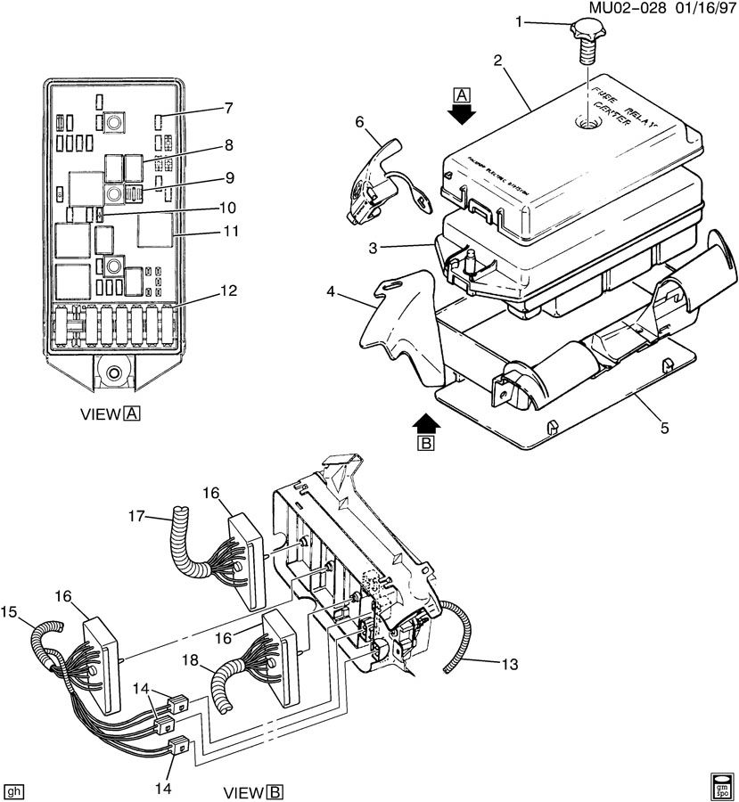 block  accessory wiring junction