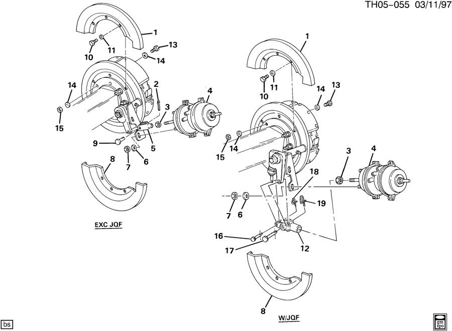 Brake Chamber Mounting Rear Axle
