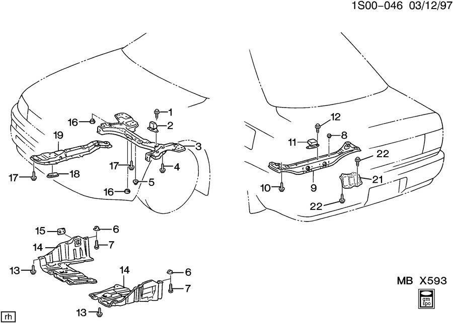 2000 mercury cougar suspension diagram html