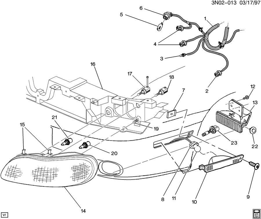 1998 oldsmobile achieva parts