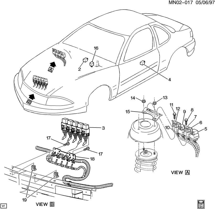 relays wiring diagram 1997 oldsmobile achieva wiring diagram for oldsmobile trofeo