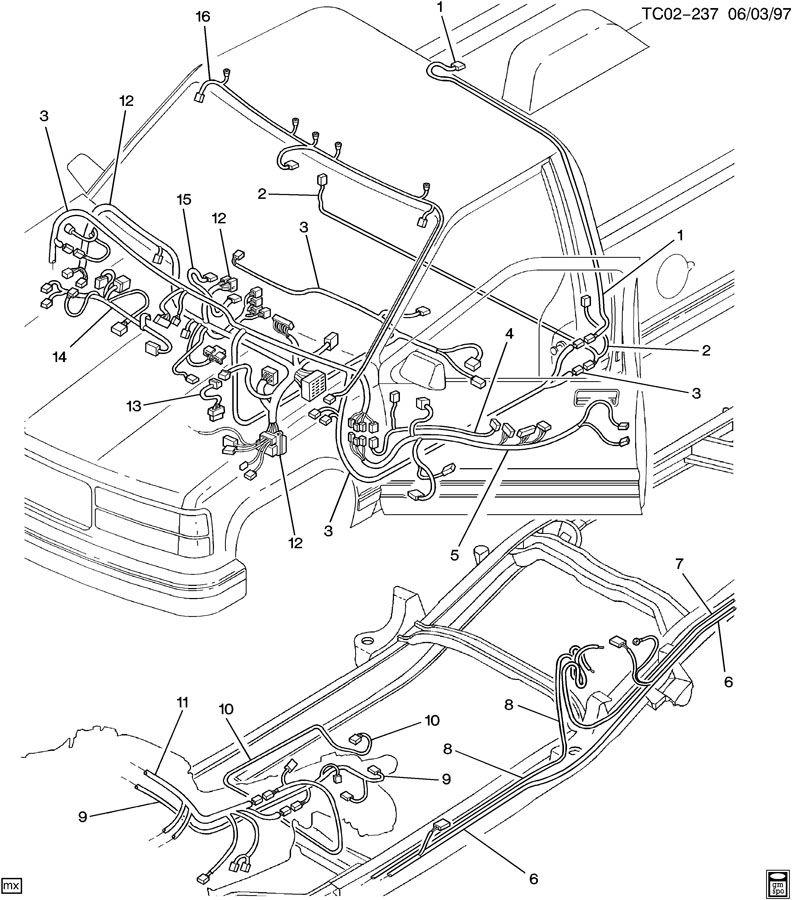 c310 314 318 wiring harness intermediate  ck310 314 318