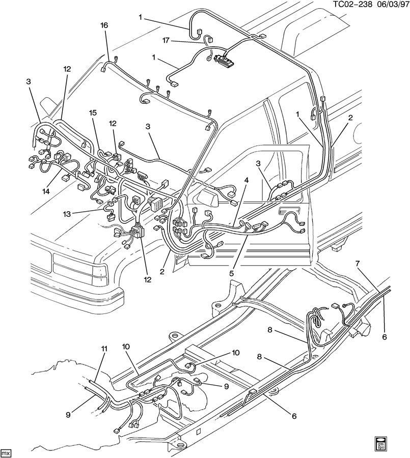 wiring harness intermediate